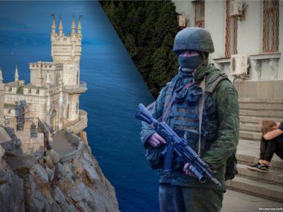 Офіцери РФ у Криму