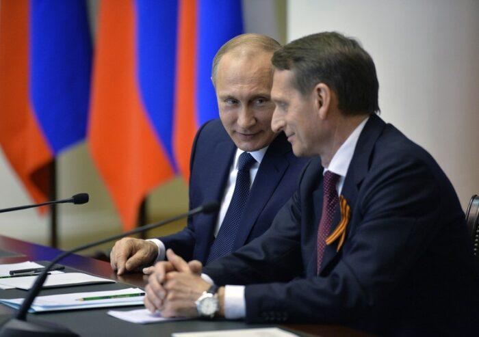 Путін і Наришкін