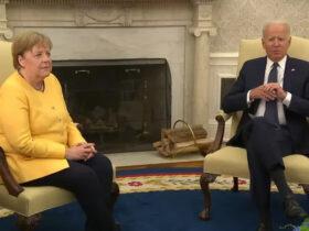 Байден і Меркель у Вашингтоні