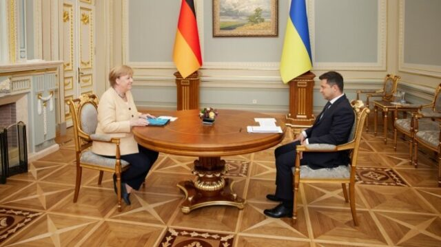 Меркель в Україні